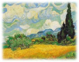 Van-Gogh-Cyrpesses